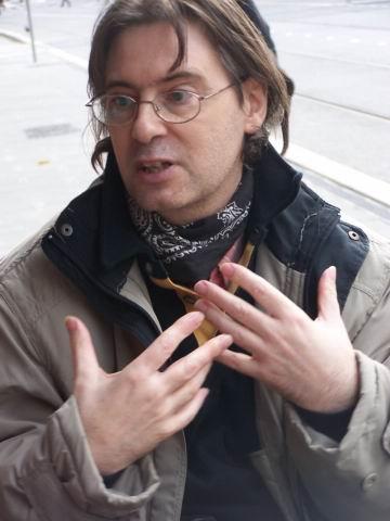 Mr <b>Philippe SERVE</b>, lors de notre rencontre le 16 novembre 2007. - pserve